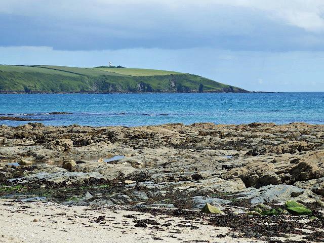 Looking across to Gribbin Head, Cornwall