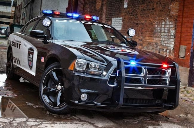 Amerika - Dodge Charger Police Interceptor