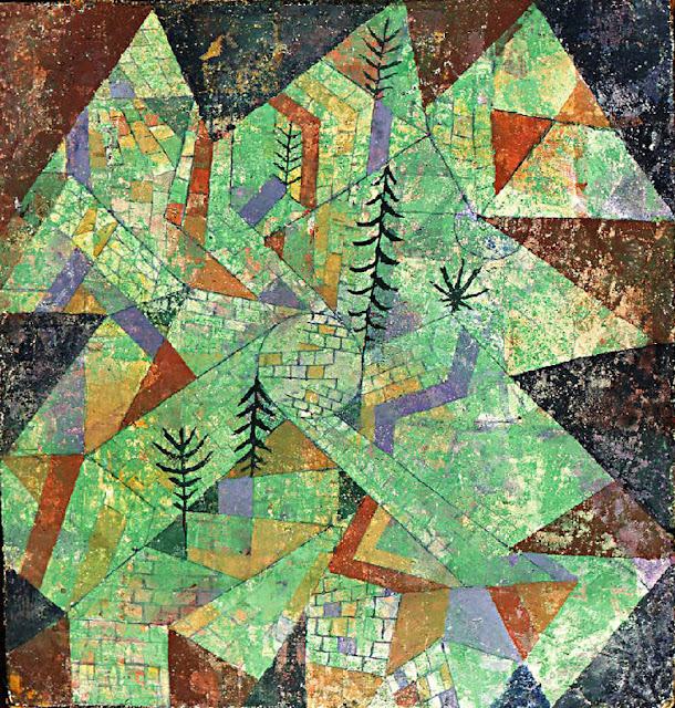 Quadro astratto di Klee