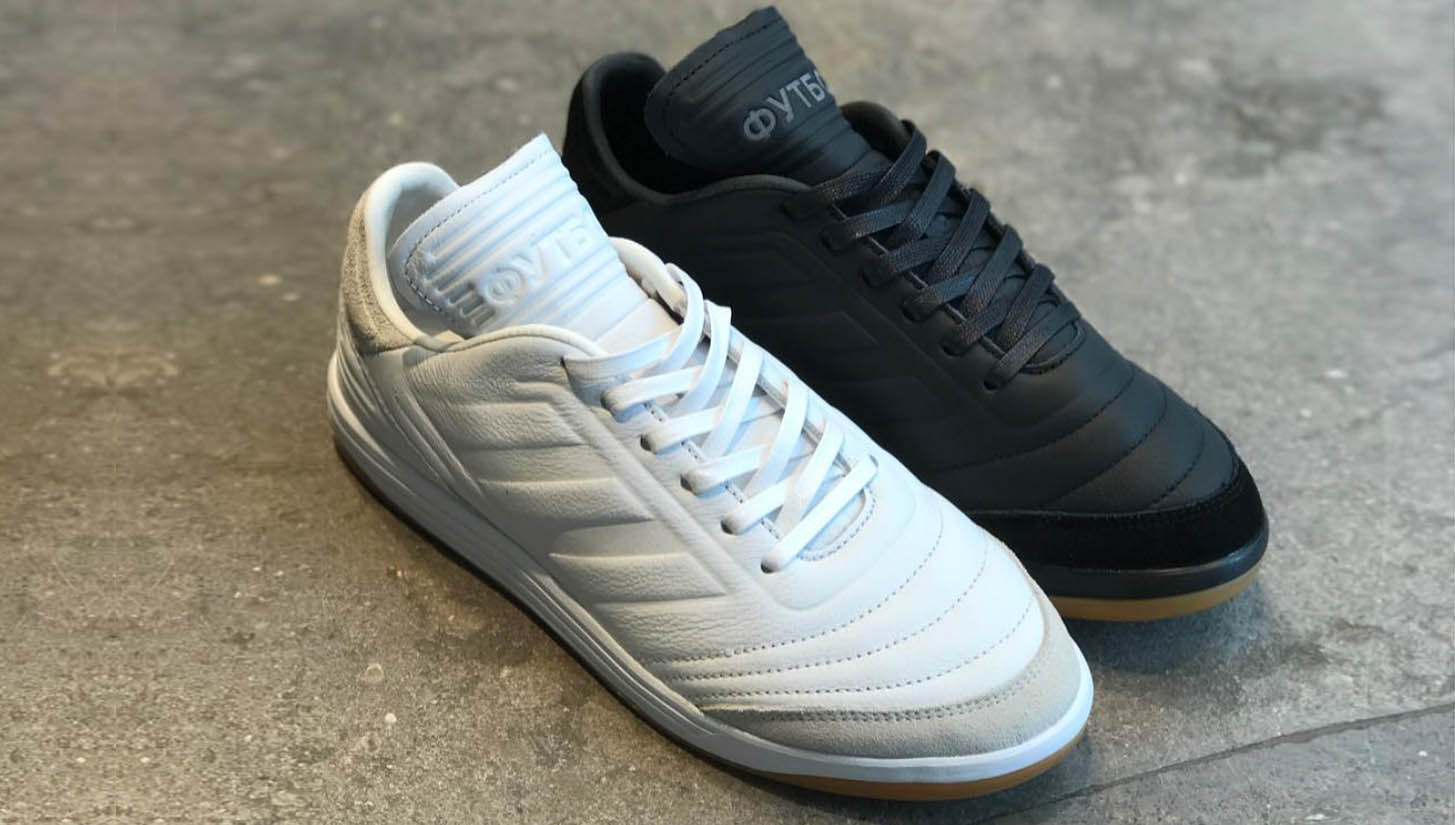 huge selection of 09d72 001e6 Two Classy Adidas x Gosha Copa Fall 2017 Boots Released ...