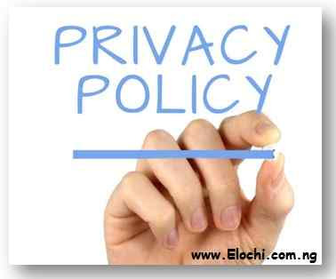 Generate Privacy Policy for Blog - ElochiBlog