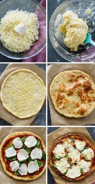 Die beste Keto-Pizza-Kruste