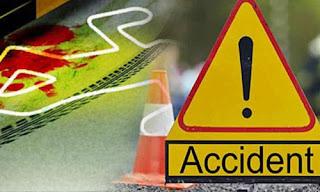 औरंगाबाद में सड़क हादसे में पिता- पुत्र की मौत, सात लोग गंभीर रूप से घायल