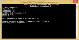 Cara Membuat Program C++ Konversi Angka Menjadi Bilangan Dan Kalkulator Sederhana Beserta Penjelasan Kode Program