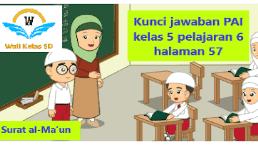 Kunci Jawaban Agama Kelas 5 Halaman 57