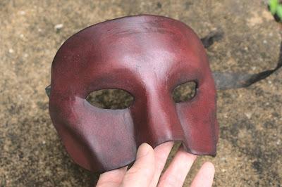 Foam Masquerade Mask Pattern
