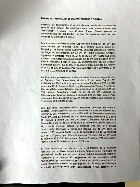 denuncia-cristina-torres-empresas-fantasmas