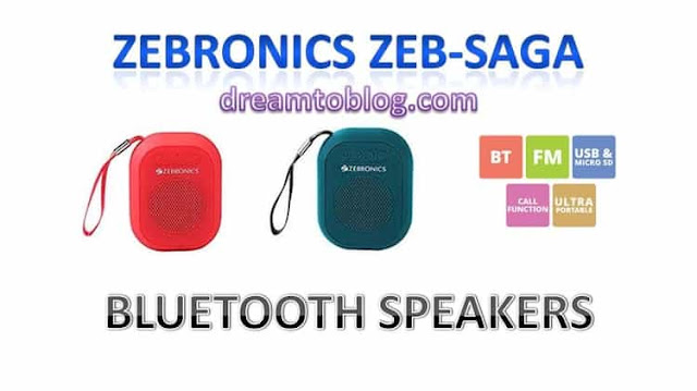 Zebronics Bluetooth Speakers