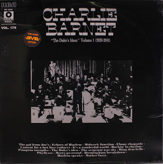 The Duke's Ideas by Charlie Barnet Album Cover