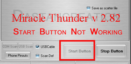 miracle box 2.82 or 2.58 start button not working 100% solution