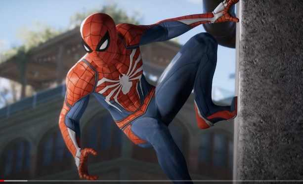 Game Spiderman PS4