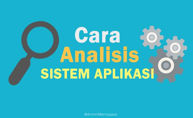cara analisis aplikasi