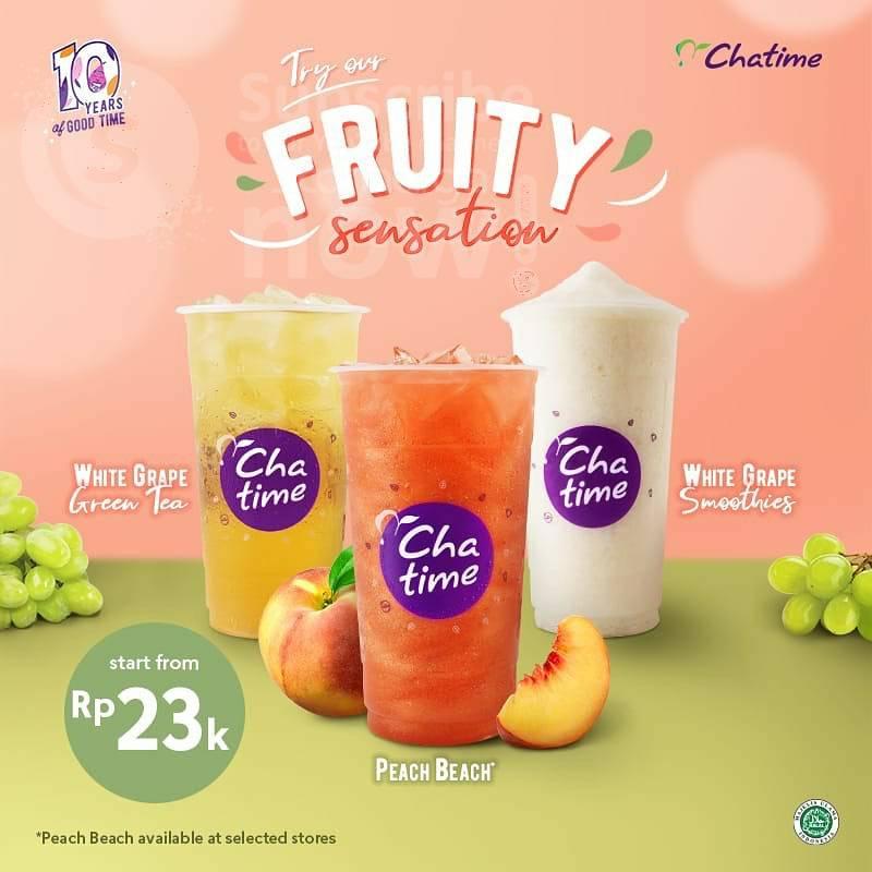 Chatime Fruity Sensation - harga Spesial mulai Rp. 23.000