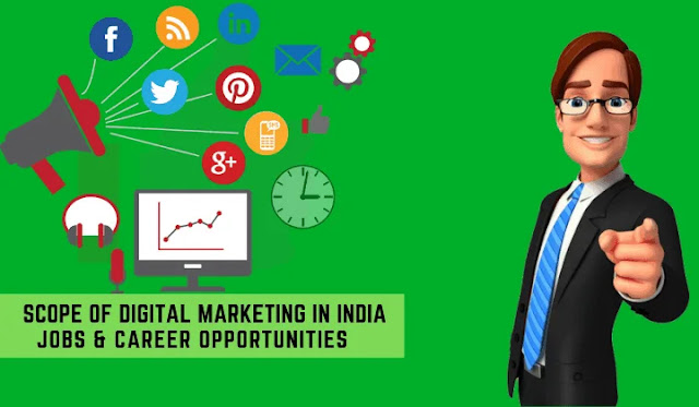 Scope of Digital Marketing: Jobs & Career Opportunities in India