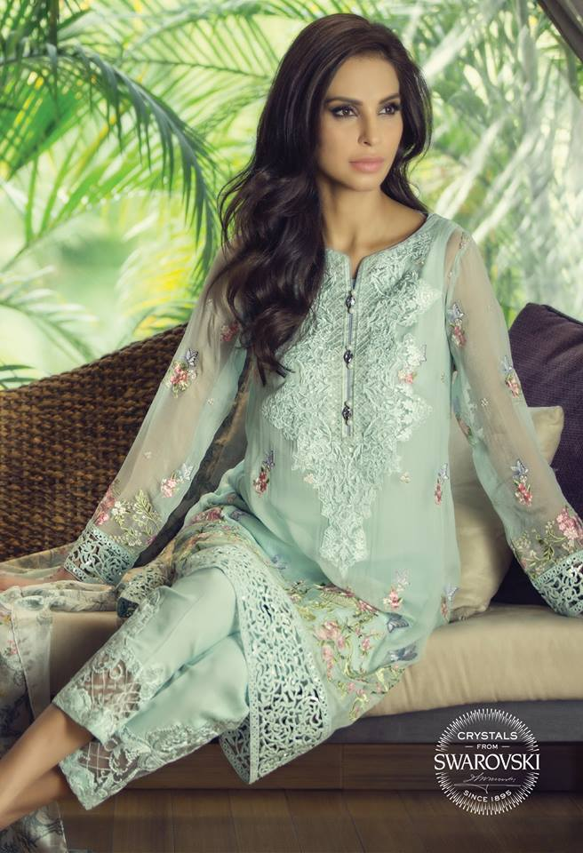 Eid dresses 2015 2016 fancy eid dresses for girls by maria b