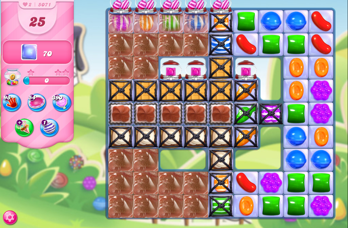 Candy Crush Saga level 5071