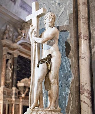 Michelangelo, Cristo risorto, 1519-20