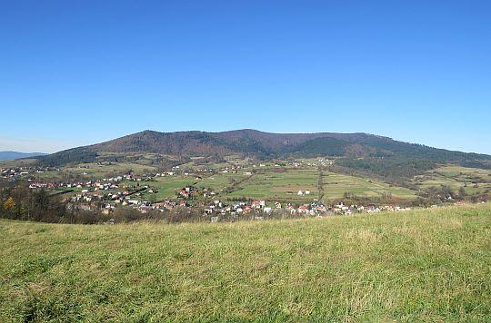 Widok na masyw Lubogoszcza.
