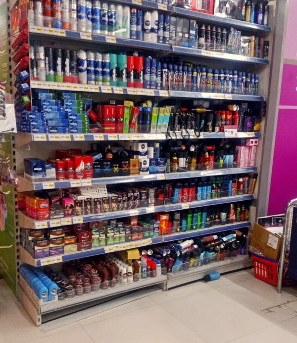 Deodorants Display