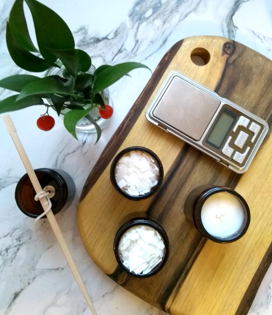 Świece zapachowe DIY jak zrobić