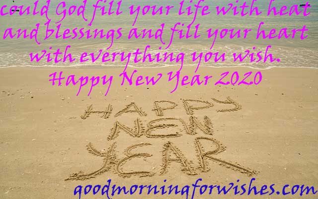 wishes for happy new year sms messages & Images