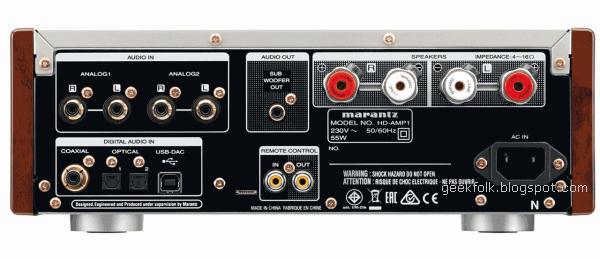 Marantz HD-AMP1 ports