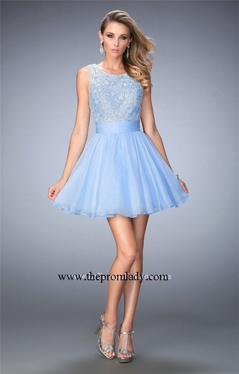 Periwinkle Short Formal Dresses