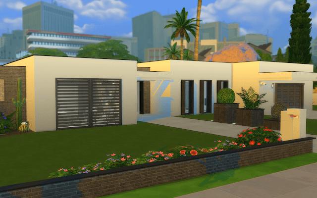telechargement villa Sims 4
