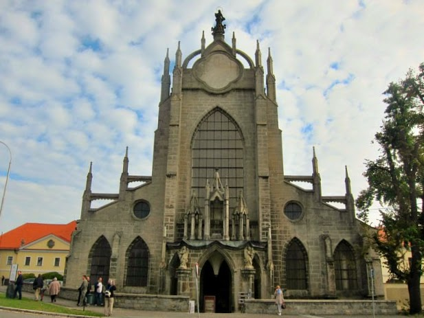 Cathedral of Assumption of Our Lady and St John the Baptist i Kutna Hora