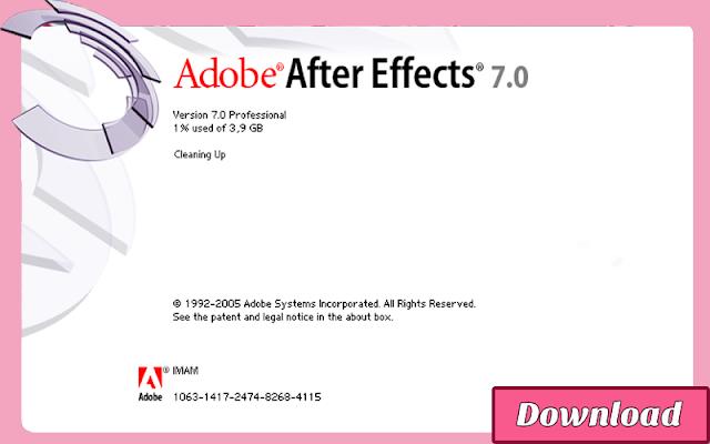 Download Adobe After Effects 7.0 (CS2) RESMI, LEGAL, Gratis & Halal | Adobe