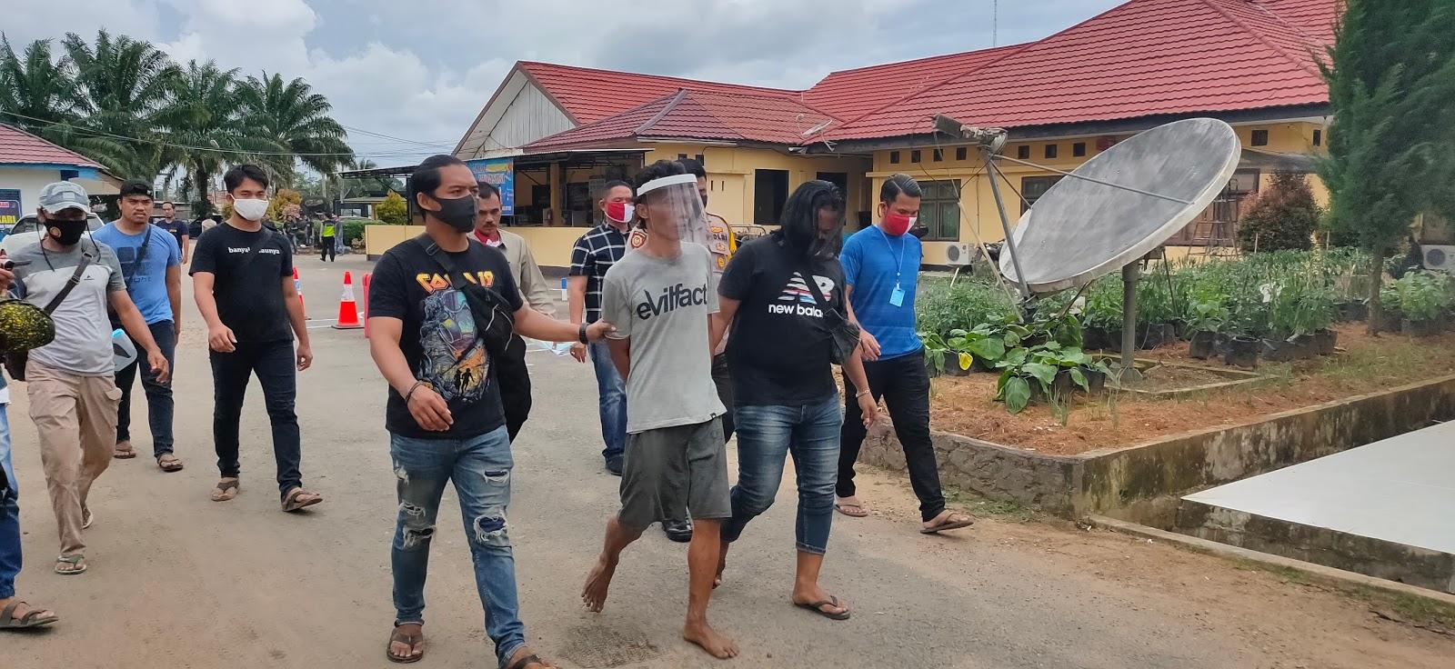 Pelaku Pembunuhan di Desa Alang-Alang Akhirnya Tertangkap