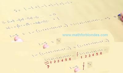 False equality. Mathematics For Blondes.