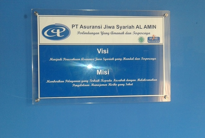 Lowongan Kerja Staff Admin Via Online | PT.Asuransi Jiwa Syariah Al Amin