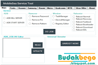 Mobile Sea Service Tool Full Version 100%