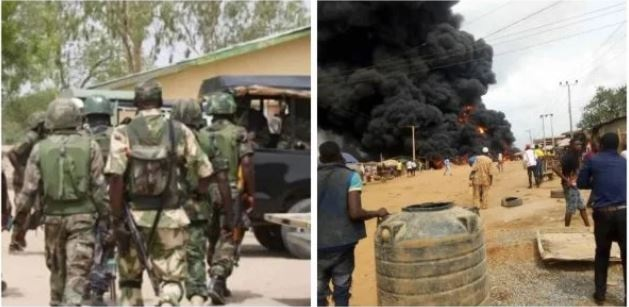 Kaduna Govt Reacts As Soldiers Accidentaly Fire Assemblied Of God Church Building
