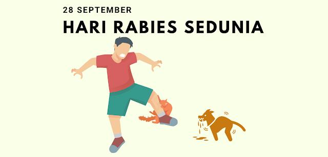 Sejarah Hari Rabies Sedunia 28 September
