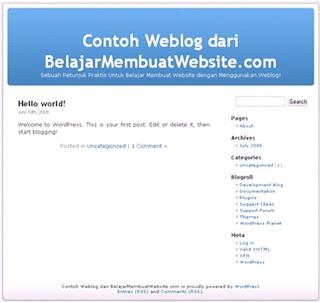 Belajar Membuat Website dan Cara Membuat Website Sendiri