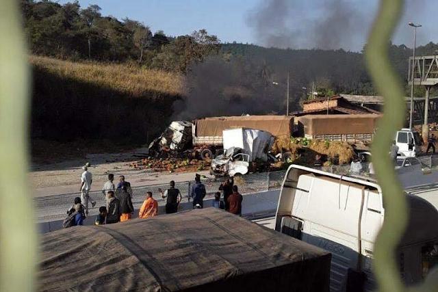 Acidente deixa mortos e 8 feridos em estado grave na Região Central de Minas Gerais