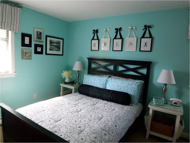 Phòng ngủ chọn màu dịu mát sẽ làm cho giấc ngủ thêm êm ái