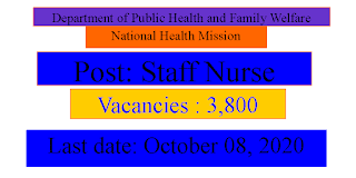 National Health Mission Staff Nurses Recruitment Madhya Pradesh