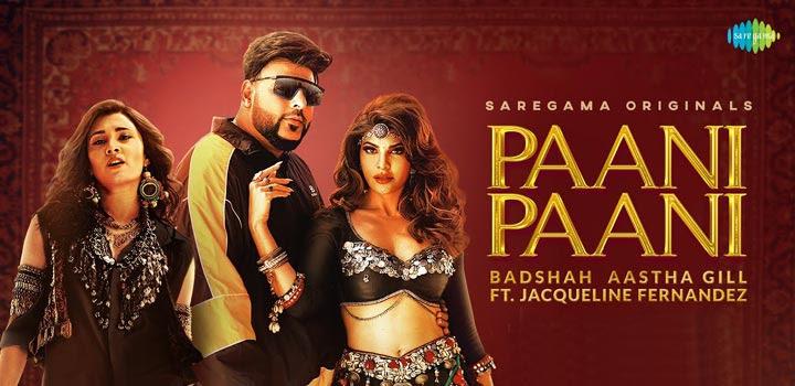 Paani Paani Song Lyrics In Hindi - Baadshash & Aastha Gill