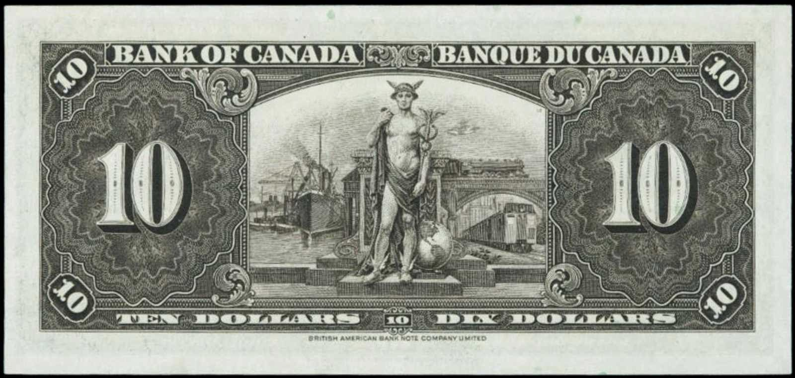 1937 Canadian 10 Dollar Bank Note