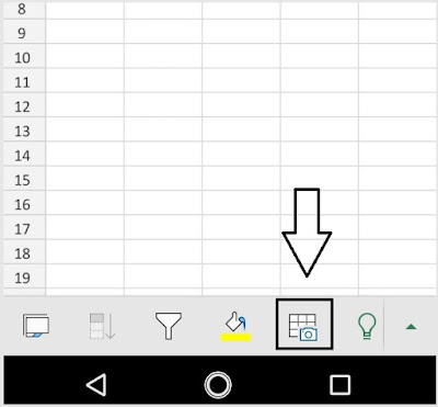 Import Data from Picture into Excel