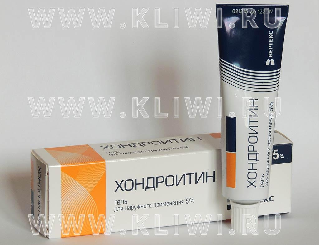 Хондроитин гель
