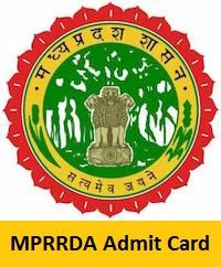 MPRRDA Admit Card