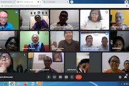 Pertemuan dan Doa Lingkungan St. Anastasia 3 secara virtual