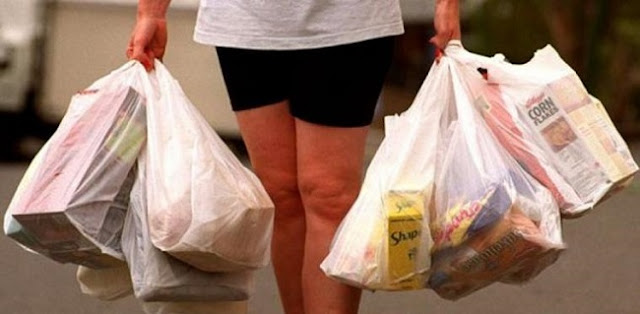 Ingat, Sejak Hari Ini Pelanggar Aturan Penggunaan Kantong Plastik Bisa Didenda Hingga Rp 25 Juta