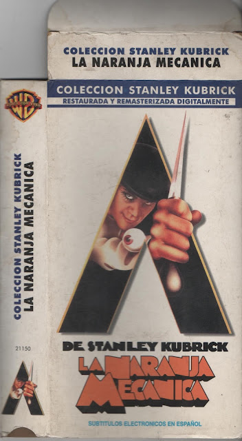 """Pelicula: """"La Naranja Mecanica"""" - 1971 (Re edicion 2001)"""