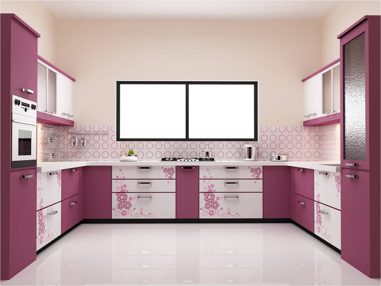 New 100 Modular Kitchen Designs Cabinets Colors Accessories 2019