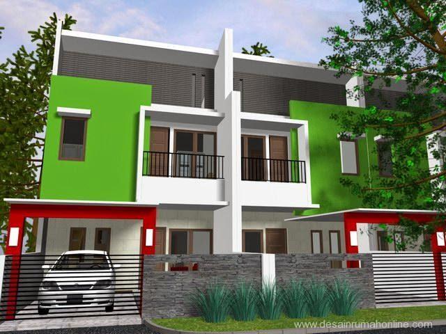 Desain Rumah Minimalis 2 Lantai Lebar 6 Meter Gambar